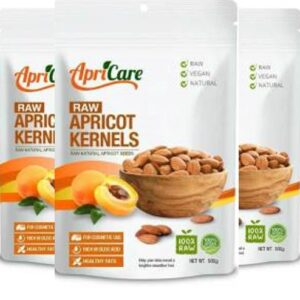 3x Pack Raw Apricot Kernels 500g